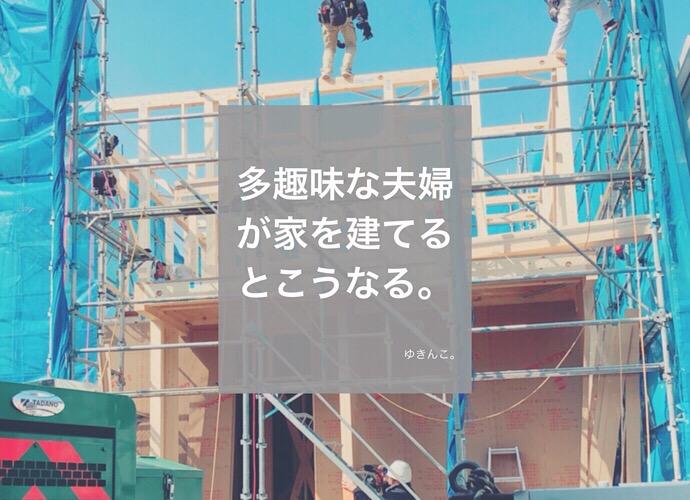 多趣味な夫婦が家を建てるとこうなる。