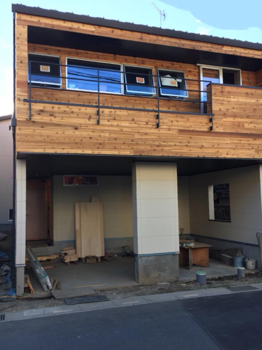 家はこうして出来る  外壁は木パネル編