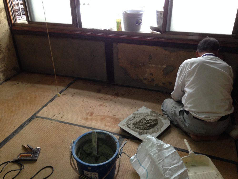 築100年の古民家リフォーム、壁の修復と仕上げの方法(第2回)