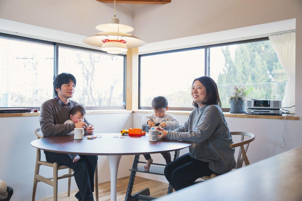 建築士と建てた注文住宅が完成!自然と四季を、五感で感じるお家
