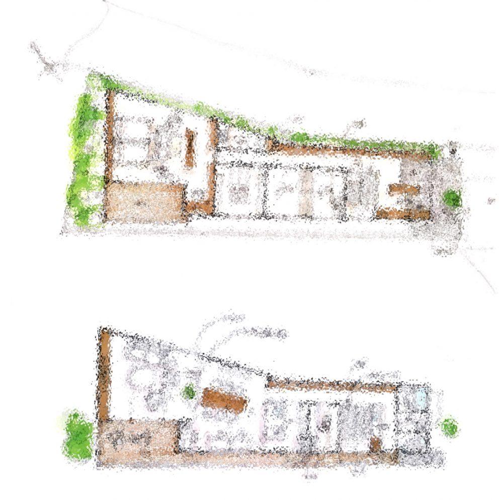 一級建築設計事務所に決めた理由、狭小間口でも、変形地でもプランを作ってくれた