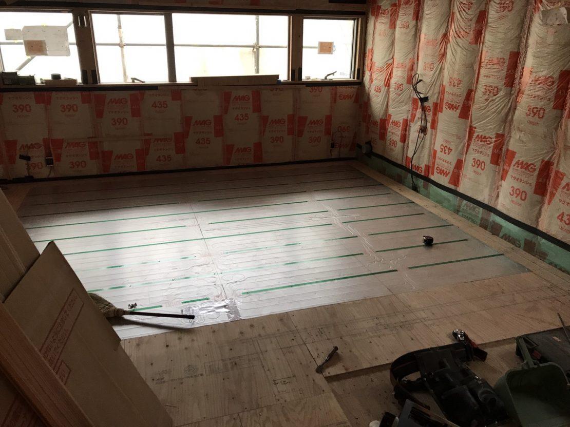 家はこうして出来る  床と床暖編