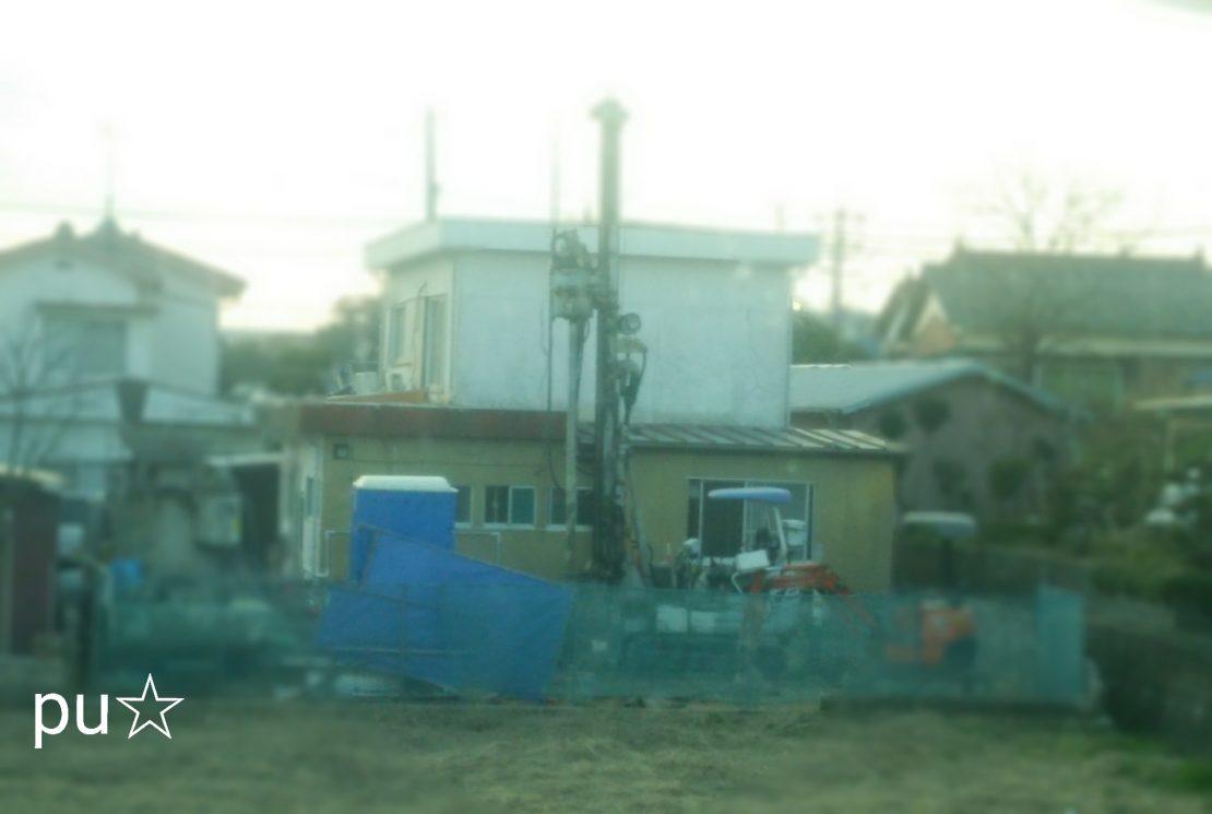 地盤改良工事~基礎工事
