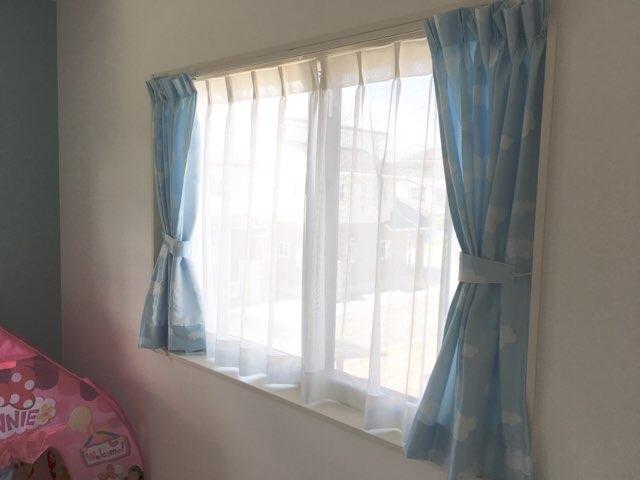 我が家のカーテン事情
