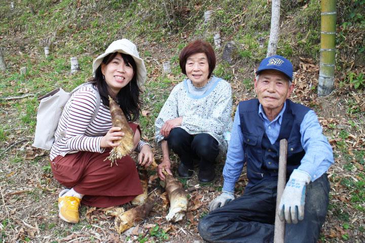 タケノコ、ワラビ、たらの芽!連携プレーで春の収穫祭り!