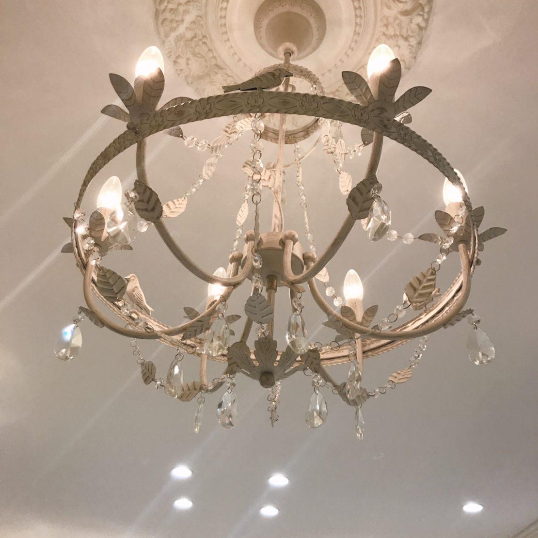 我が家の照明と鏡